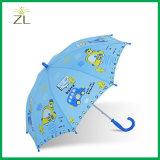 190tポリエステル漫画のまっすぐな子供の傘