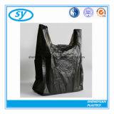 Bolso de basura plástico del PE del precio de fábrica