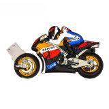 Motorrad-Karikatur USB-Blitz Laufwerk kundenspezifische Belüftung-grelle Platte