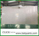 Countertop камня кварца мраморный возникновения белый