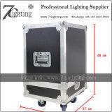 Appareils d'éclairage principaux mobiles du DJ d'éclairage de route de caisse de transport de cas fait sur commande de vol