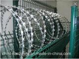 保護のための機密保護の工場かみそりの有刺鉄線