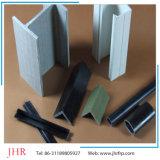 Clarabóias de plástico reforçado por fibra Pultrusion Multiuso Perfis de ângulo do perfil de extrusão de plástico reforçado por fibra
