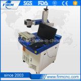 Metal y plástico duro de láser de fibra Máquina de la marca