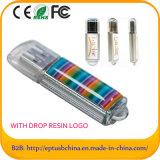 ドームのロゴUSBのペン駆動機構のフラッシュディスクメモリ(ET010)