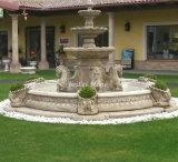 Fontana di pietra d'innaffiatura della scultura per la decorazione del giardino