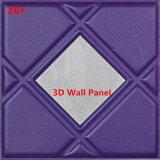 cuir acoustique d'unité centrale de panneau de mur 3D