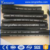 China Marca Kingdaflex Fluidos hidráulicos con refuerzo de acero hidráulico 2SN manguera 1SN