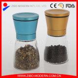 2PC de gekleurde Reeks van het Zout en van de Pepermolen van het Deksel van het Metaal