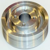機械で造られた回転精密アルミニウムコンポーネントを機械で造る習慣CNC