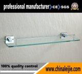 Mensola di vetro del hardware della stanza da bagno di disegno moderno