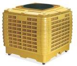 Для использования вне помещений на стену при испарении воды электровентилятора системы охлаждения воздуха для мобильных ПК