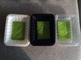 Bandeja plástica disponible de la exhibición de la fruta fresca de Walmart&Kroger&Costco del mejor negro al por mayor del precio