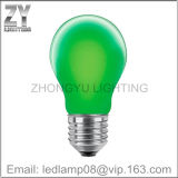 Illuminazione dell'indicatore luminoso/LED della lampada ad incandescenza della lampadina/LED del filamento di colore verde LED di GLS A60 E27/LED/lampadina di Dimmable LED/lampada di Dimmable LED