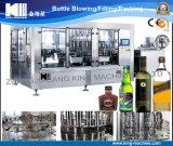 Machine 3in1 recouvrante remplissante de lavage de vin de bouteille en verre