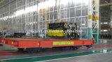 Carga pesada no trilho de carrinho de plano de transferência