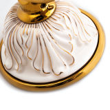 위생 상품 목욕탕 호화스러운 금관 악기 잘 고정된 비누 받침 (BaQaB7002 EL GD)