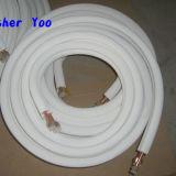 Tubo de aluminio de cobre del aire/acondicionado Insualted