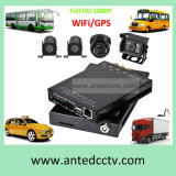 Veículo de 4 canais e DVR CCTV 1080P Kits de câmara para o sistema de vigilância do Barramento CAN do Veículo