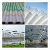 Hohe Leistungsfähigkeits-Polycarbonat-Wellen-Dach-Blatt-Produktionszweig