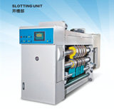 Drucker Gluer Machine mit Slotter Die Cutter