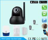 IPのカメラ+無線アラーム+ GSMの警報システム
