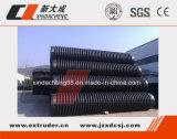 Grand diamètre tuyau ondulé de machines de bobinage en plastique
