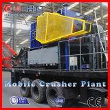 Gruben-mobile Zerkleinerungsmaschine für den harten Stein, der mit hochwertigem zerquetscht