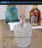 Frasco de vinho do cristal de qualidade superior com selo de vidro