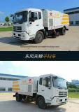 Dongfeng de 6000 a 8000 m2 Auto barredora de vacío de camiones de carretera