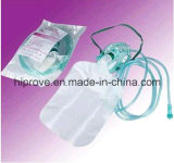 Masque à oxygène médical approuvé de Non-Reniflard de la CE de marque de Ht-0452 Hiprove