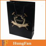 Черная хозяйственная сумка способа цвета с лоснистым слоением