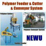 ポリマーカッター、送り装置およびコンベヤ・システム