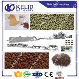 Certificado Ce capacidad grande de comida de pescados flotante Línea de Producción