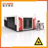 3m tubulação e máquina de estaca do laser do metal da placa