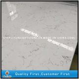 백색은 부엌 상단을%s 단단한 지상 인공적인 돌 석영을 착색한다