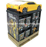O Best Seller Cardboard Stands Paper Pallet Custom Pop Displays