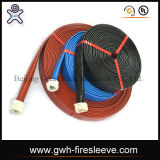 Feuer-Hülsen-Sigel-Schmieröl-beständige Hochdruckgummischlauch-Faser-Flechten-hydraulischer Schlauch
