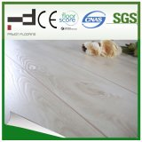 plancher blanc léger de stratifié de bois dur de surface de foulage de 8mm