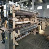 Máquina de têxteis de tear de tecelagem com bico duplo