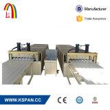 Toit de tôle en acier ondulé Rollformers Panneau mural carrelage vitrifié machine à profiler