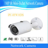 De OpenluchtCamera van het Netwerk van de mini-Kogel van IRL van Dahua 1MP (ipc-HFW1020S)