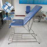 Bed van de Lijst van het Onderzoek van het Ziekenhuis van de fabriek het In het groot Multifunctionele Elektrische met Kussen