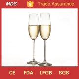 Het hete Glas van de Fluit van Champagne van de Stam van de Bal van de Verkoop Duidelijke