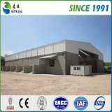 高性能のプレハブの鉄骨構造の倉庫