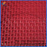 Miningのための赤いCrimped Wire Mesh
