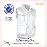Viagens de lazer Khaki Multi Color Outdoor Vest