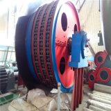 Grua de cilindro do dobro da corda de fio da alta qualidade para o levantamento do eixo