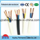 Alambre eléctrico con cubierta de alambre flexible de alambre forrado de PVC blando Conducta