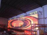 P10 LED 커튼 메시 옥외 영상 풀 컬러 발광 다이오드 표시